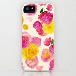 Royal Garden iPhone Case