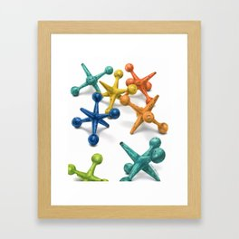 Jack's Jacks- A Still Life Framed Art Print