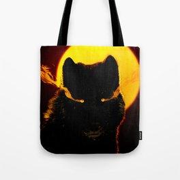 Malevolent Wolf Tote Bag