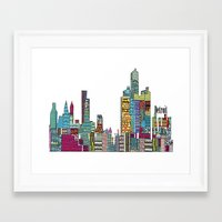 detroit Framed Art Prints featuring Detroit by bri.buckley