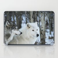 wolves iPad Cases featuring Wolves by Danielle Perry