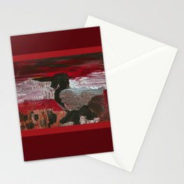 Kingfisher in Black Stationery Cards