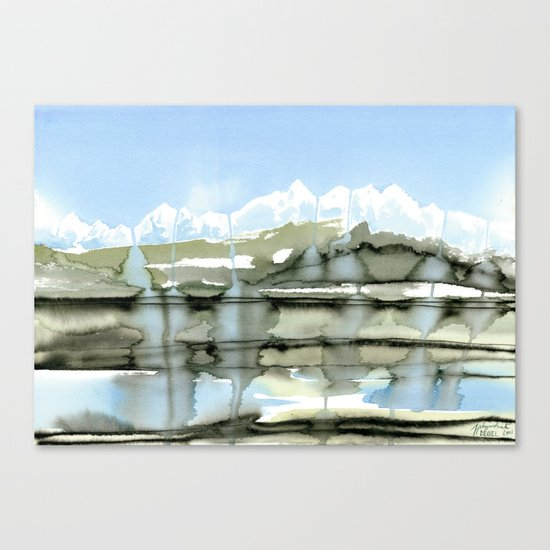 Unfreezing Canvas Print