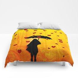 encircled Comforters