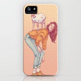 Signe de la chèvre iPhone Case