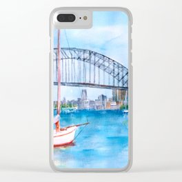 Beautiful Sydney Harbour Clear iPhone Case