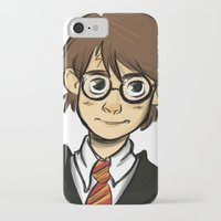 harry iPhone & iPod Cases featuring HARRY  by art of Bianca