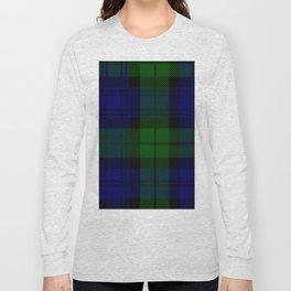 Scottish Campbell Tartan Pattern-Black Watch #2 Long Sleeve T-shirt
