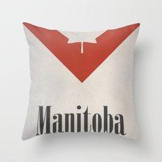 Manitoba Throw Pillow