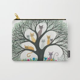 Cimarron Whimsical Cats Carry-All Pouch