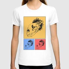 Lion SkullMine Tricolour T-shirt