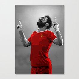 Mohamed Salah - Liverpool Canvas Print