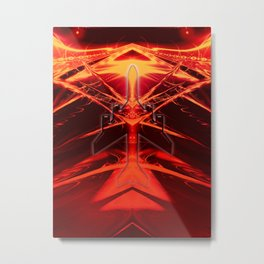 Start in ein neues Jahr Metal Print