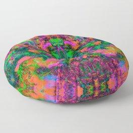 Nausea 1969 IV (Ultraviolet) Floor Pillow