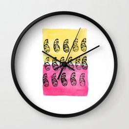 Block Print Bazaar II Wall Clock