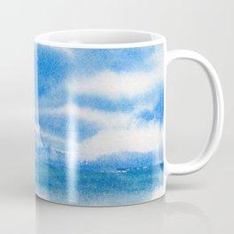 Moody Blue Sky Coffee Mug