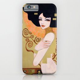 Klimt's Adele iPhone Case