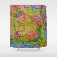 quibe Shower Curtains featuring Flower IV by Magdalena Hristova