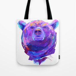 Grizzly bear (Animal set) Tote Bag