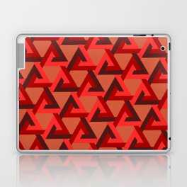 Linked Triangles Laptop & iPad Skin