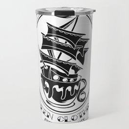 Fheen Ship Tea Cup  Travel Mug