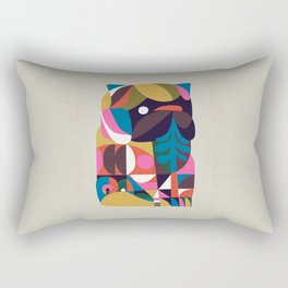 Nordic Pug Rectangular Pillow