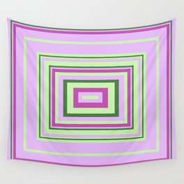 Purple, Lilac, Green Decorative Design, ideal for bedding, leggings, etc Wall Tapestry