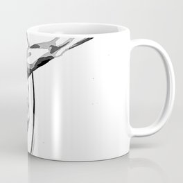 Black and White Hoop Coffee Mug