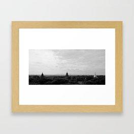 Bagan, Myanmar Framed Art Print