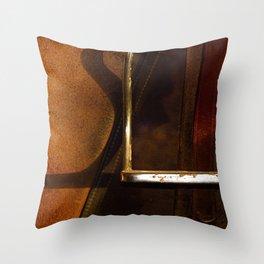 Stirrup // Horse Tack Throw Pillow