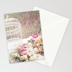 Birdcage & Flowers Stationery Cards
