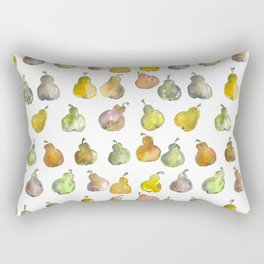 The Pear Party Rectangular Pillow