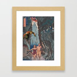 Jap Framed Art Print