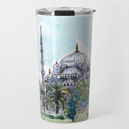 The Blue Mosque Travel Mug