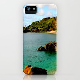 Waimea Bay ... By LadyShalene iPhone Case