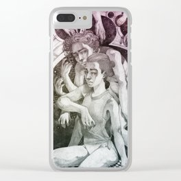Grasping Clear iPhone Case