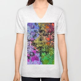 many dots III Unisex V-Neck