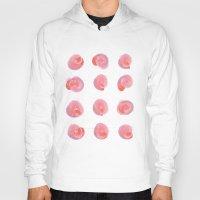 blush Hoodies featuring Vintage Blush by 83 Oranges®