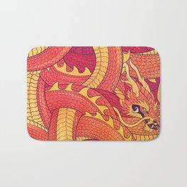 Coiled Dragon Bath Mat