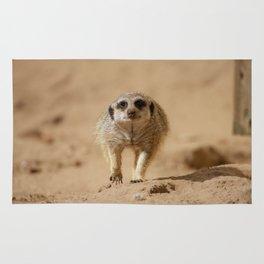 Little cheeky meerkat Rug