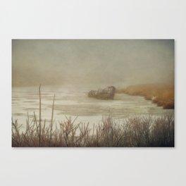 Life is a Shipwreck Canvas Print