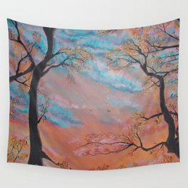 """Speculatur Omnia """"She Watches All"""" Wall Tapestry"""