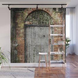 Old doorway Wall Mural