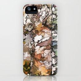 Autumn Aspen Trees - 2 by OLena Art - brand iPhone Case