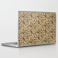 paisley Laptop & iPad Skins featuring Paisley by Catru