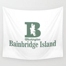 Bainbridge Island - Washington Sate. Wall Tapestry