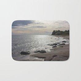 Seascape with stones Bath Mat