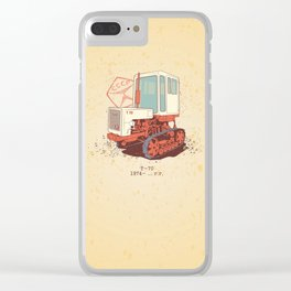 Т 70 Clear iPhone Case