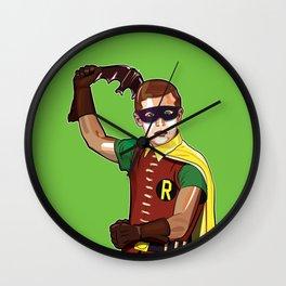 Boy Wonder Wall Clock