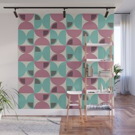MCM Demi Cercle Wall Mural